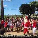 Robertinho Papai Noel entrega 3 mil brinquedos para crianças carentes