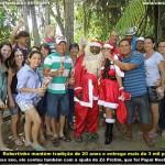 Zé pretim teve seu dia de Papai Noel em Vila Palmares