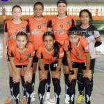 Meninas do Futsal de São Francisco se destacam em competição na Serra