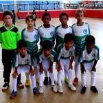Futsal sub 09 de Nova Venécia ganha campeonato em Boa Esperança