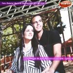 João Marcos e Franciele se casam na Igreja Batista Viva, em Barra de São Francisco