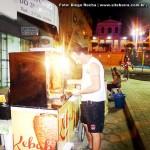 Italiano faz sucesso com lanche turco na Praça de Alimentação