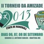 Torneio de Handebol entre os atletas do Handminas neste final de semana