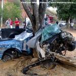 Acidente mata dois jovens da mesma família em Nova Venécia