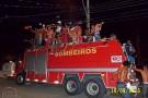 Caminhão do Corpo de Bombeiros, ambulância e uma viatura: francisquenses ficam indignados com uso de veículos em comemoração do Real Noroeste