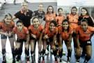 Futsal feminino de Barra de São Francisco nas semifinais do JEES