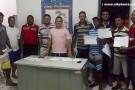 Distribuídas as fichas de inscrição para Taça Cidade Mantena Futsal 2013