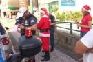 SC: Papai Noel é multado enquanto distribuía presentes a crianças carentes