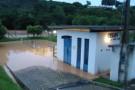Enchente 2013: alagamento nas bombas de captação de água da Cesan prejudica abastecimento em Barra de São Francisco e região