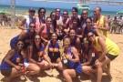 Equipe de handebol feminino de Barra de São Francisco é vice-campeã do Torneio de Verão em Guriri