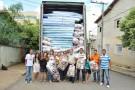Mantena recebe 08 carretas com doações da Defesa Civil Nacional