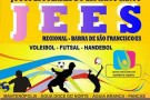 Regional do JEES movimentará Barra de São Francisco no mês de maio