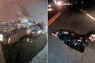 Três mortes em dois acidentes neste domingo na BR 101