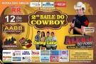 Neste sábado (12) tem o 2º Baile do Cowboy em Barra de São Francisco. Confira a programação completa