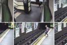Em Londres, carrinho com bebê cai nos trilhos do metrô, empurrado pelo vento