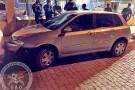 Veículo roubado na Serra é recuperado pelo GAO de Barra de São Francisco