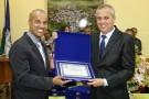 1º Tenente Romildo Alves Ferreira recebe homenagem em Mantenópolis