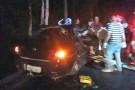 Passageiro morre após carro bater em árvore em Rio Bananal