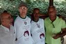 Dower ex-Santos encontra atletas famosos no Rio de Janeiro, como o Tri-Campeão Paulo César Caju