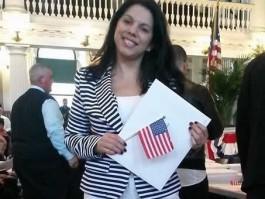 Josiane Delmaschio é mais uma francisquense a conseguir cidadania americana