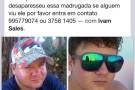Mantenópolis: Família procura jovem desaparecido