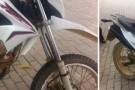 Suspeito vê polícia militar e abandona moto furtada em Pancas