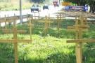 200 cruzes em protesto contra acidentes de trânsito em Colatina