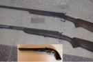 PM prende dois homens e apreende armas de fogo Ecoporanga