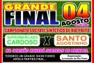 Sexta Feira tem a Grande Final do Campeonato Socyate Sintético de Rio Preto