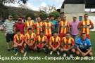 Água Doce do Norte é campeão do 1º torneio de futebol Society do 11º BPM