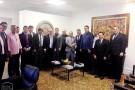 Presidente do Tribunal de Justiça recebe autoridades e advogados de Ecoporanga e Barra de São Francisco