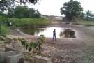 Tradicional Rio Preto em Guriri secou. População está triste com a situação
