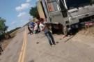 Jovem morre e pai fica ferido em acidente de moto no interior de Pancas