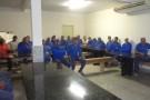 Sargento Eliseu ministra palestra aos funcionários da Mineração Guidoni