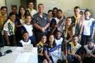 2ª CIA do 11º BPM e Construtores da Paz fazem parceria com Grupo de Desbravadores em prol de reflorestamento de nascentes em Ecoporanga