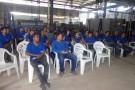 PM ministra palestra na Semana Interna de Prevenção de Acidentes de Trabalho da Pancieri Mineração