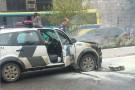 ES: viatura da Polícia Militar pega fogo durante patrulhamento