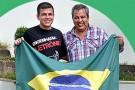 Tássio, filho do ex-prefeito de Barra de São Francisco, Waldeles Cavalcante, é Oficial da Aeronáutica