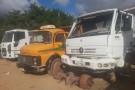 Pátio da prefeitura de Ecoporanga vira sucata de veículos e maquinários