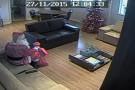Câmeras de aeroporto gravam 'papai noel' que roubou helicóptero