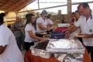 Lions Clube serve almoço de Natal para idosos em Barra de São Francisco
