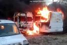 Incêndio destrói 12 carros da prefeitura de Conceição de Barra