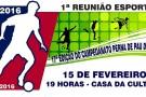 Perna de Pau 2016: primeira reunião acontece no dia 15