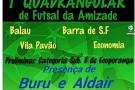 Ecoporanga recebe os ex craques da seleção Brasileira Buru e Aldair nesta Quarta Feira no Ginásio Municipal