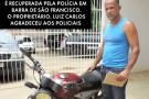 Moto furtada em Vila Velha é apreendida em Barra de São Francisco