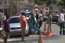 Dois acidentes envolvendo moto, bicicleta e caminhão em Mantena