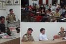 Reunião Comunitária entre comerciantes e polícia foi realizada em Mantena