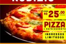 É HOJE: Com convites quase esgotados, Rodízio de Pizza do Barbosa Lanches promete ser sucesso