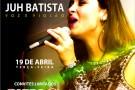 Música ao vivo com Juh Batista em Barra de São Francisco. Confira