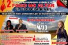 Fogo no altar: Aniversário da Igreja Assembleia de Deus em Ecoporanga. Confira a programação